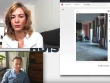 Skypen met Michiel: 'Een roze gordijn is niet altijd tuttig'