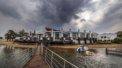 Protest tegen komst waterpretpark