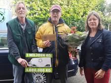 Kringloop Steenwijk zit al op een miljoen kilo goederen