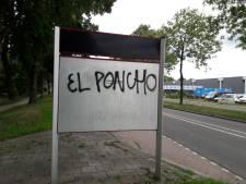 Graffiti-vandaal in Apeldoorn: wie stopt El Poncho?