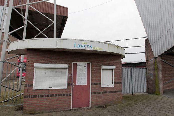 Het stadion van Helmond Sport is zwaar verouderd.