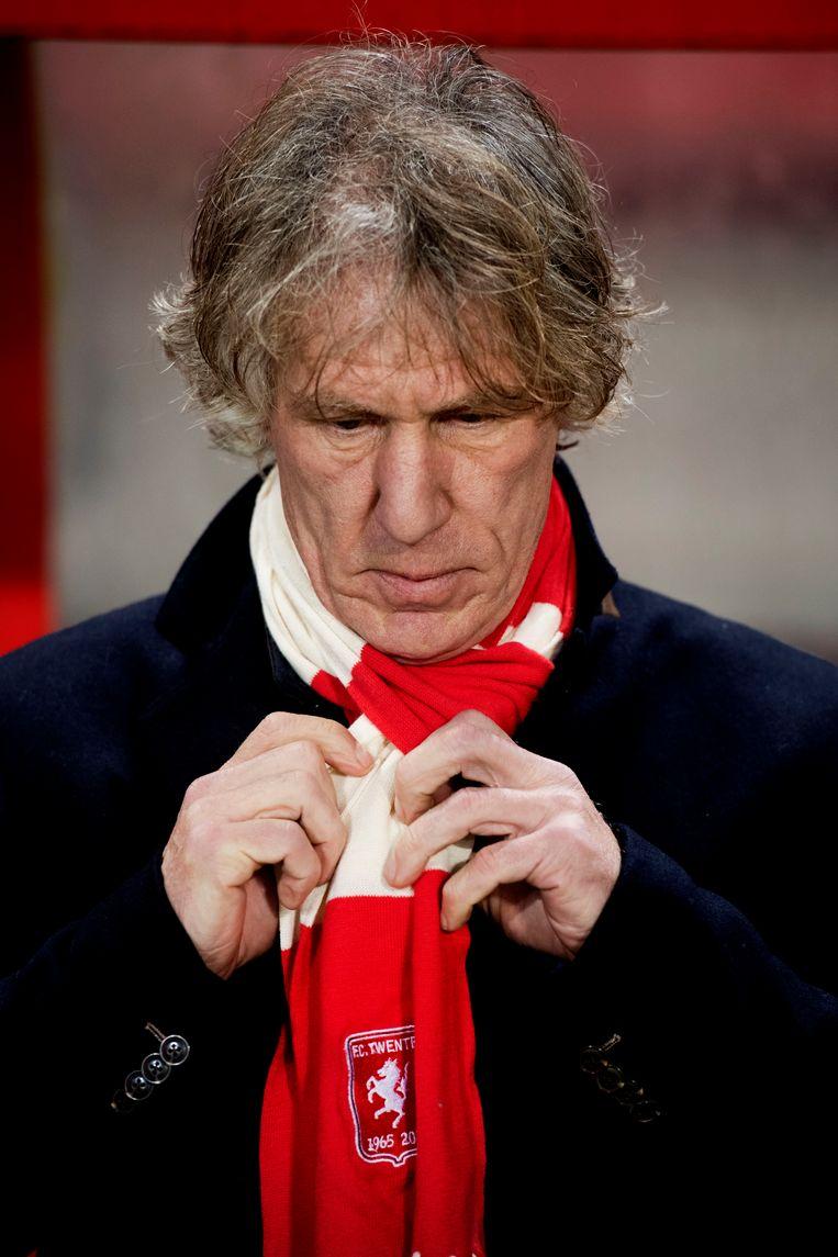 Voormalig FC Twente-trainer Gertjan Verbeek. Beeld anp