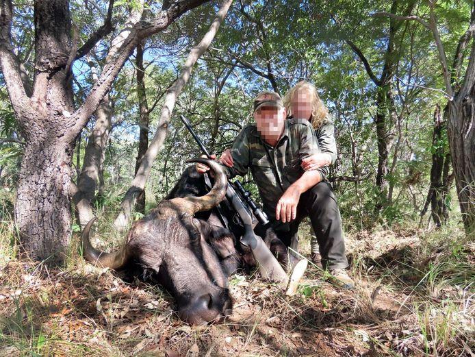 De Nederlandse arts en zijn vrouw in Zuid-Afrika.