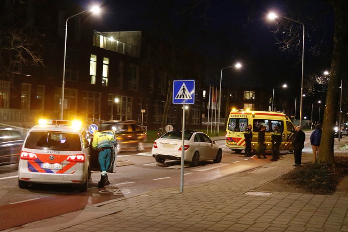 Een voetganger werd geschept op een zebrapad in de Klarinetstraat.