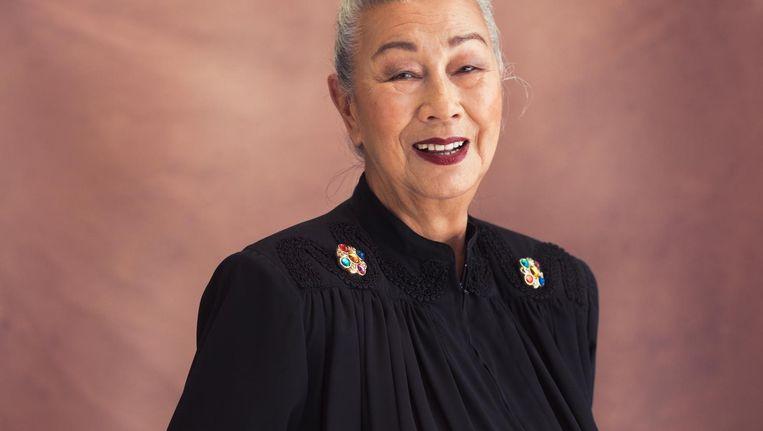 Laura Tsang (85): 'Ik heb geskied tot ik 74 was' Beeld Dana van Leeuwen
