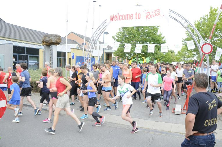 Er kwamen heel wat lopers opdagen op de vierde Relax & Run