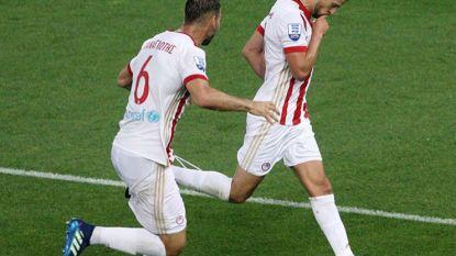 FT buitenland 16/04: Mirallas én Engels scoren voor Olympiakos
