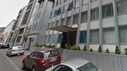 Congolese ambassade in Brussel dient klacht in wegens vandalisme