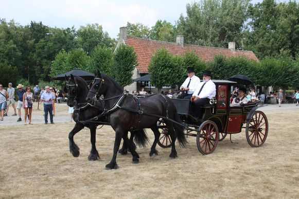De koetsenparade in Bokrijk