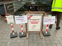 Bakfietsen en e-bikes zijn niet welkom meer in de ondergrondse stationsstalling op Leiden CS