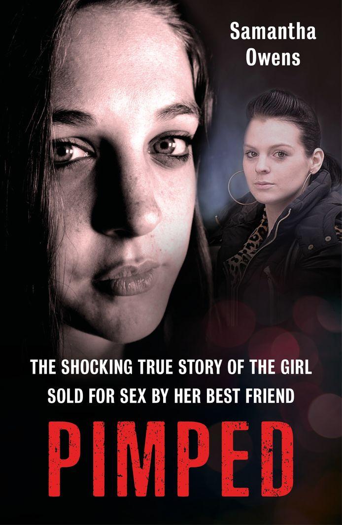 De cover van haar boek 'Pimped'.
