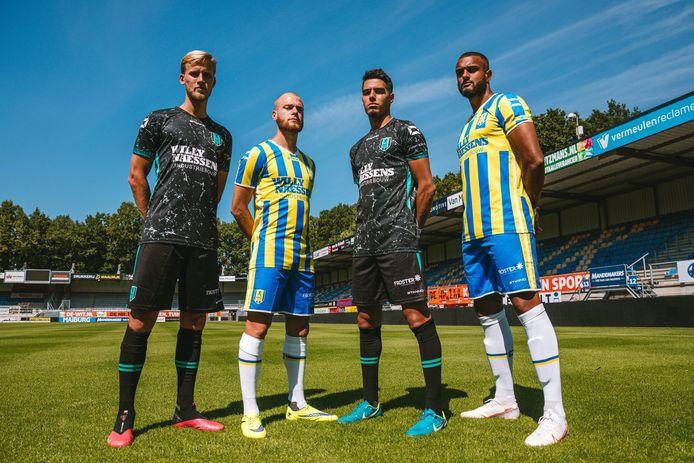 De nieuwe tenues van RKC Waalwijk.