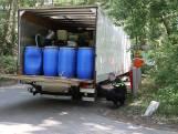 Vrachtwagen met vermoedelijk drugsafval gevonden in Riethoven