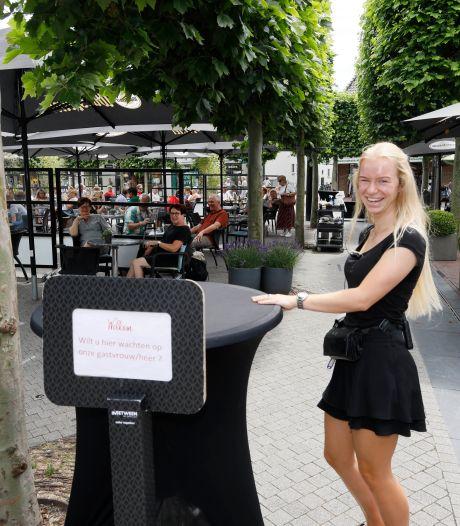 Plan voor overkapping van terras op de Markt in Wijchen