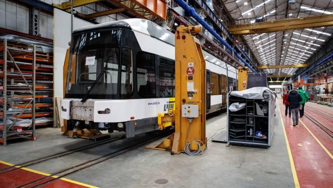 160 banen op de helling bij Bombardier Brugge