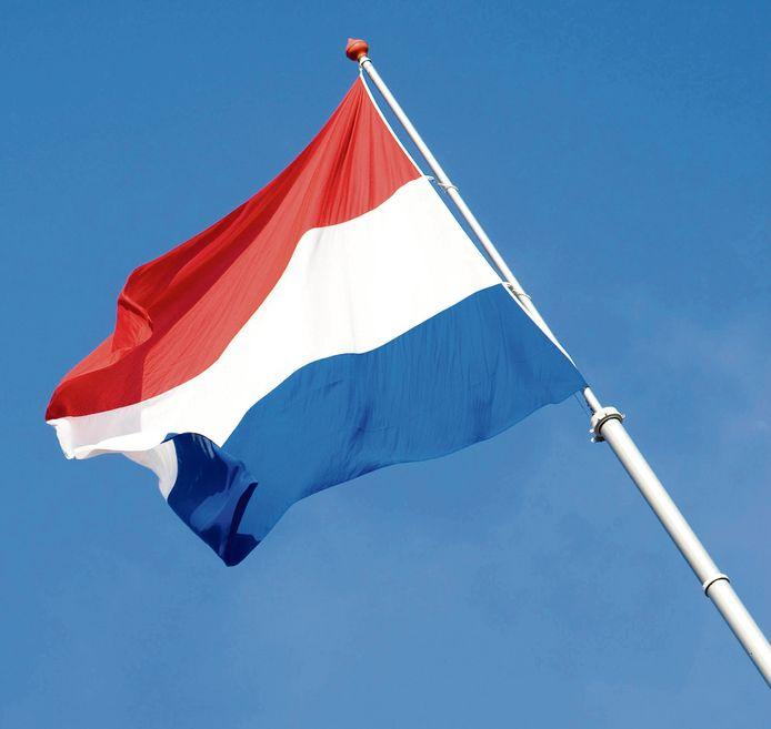 DEN HAAG - De Nederlandse vlag. ANP VALERIE KUYPERS