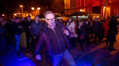 Wetteren swingend het nieuwe jaar in met feestje op Markt