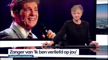 Martine Tanghe presenteert eerste journaal na overlijden echtgenoot