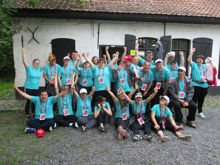 Een delegatie van De Lovie vzw trekt opnieuw naar de Special Olympics Belgium.