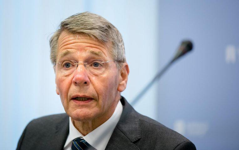 Vice-president Piet Hein Donner van de Raad van State. Beeld anp
