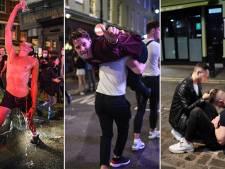 """Nuit festive """"hors de contrôle"""": la réouverture des pubs anglais a été mouvementée"""