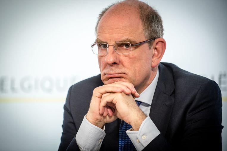 Huidig minister van Justitie Koen Geens (CD&V).