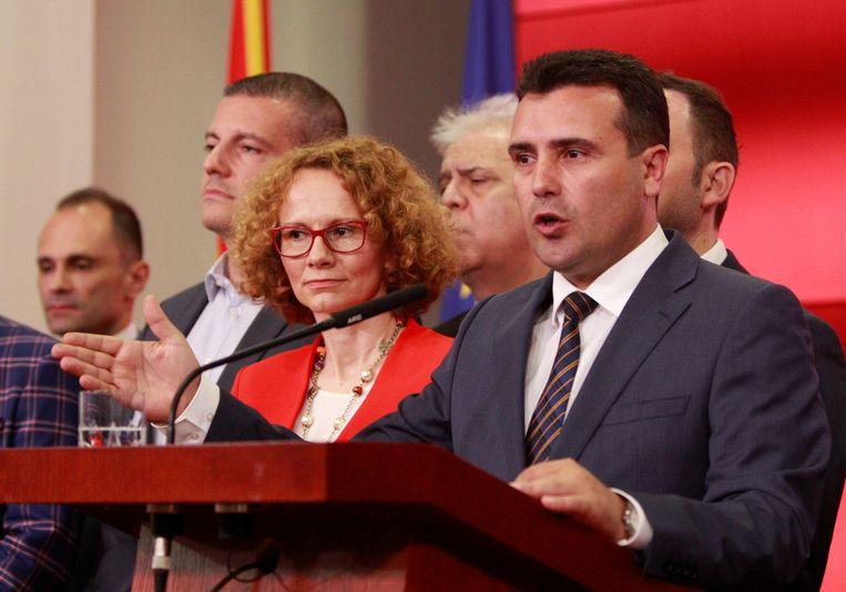 Macedonische premier Zoran Zaev.