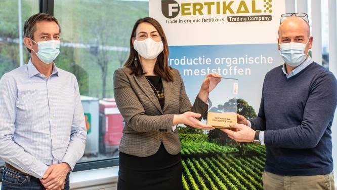 Provincie huldigt verdienstelijke bedrijven Fertikal en IJshoeve De Boey