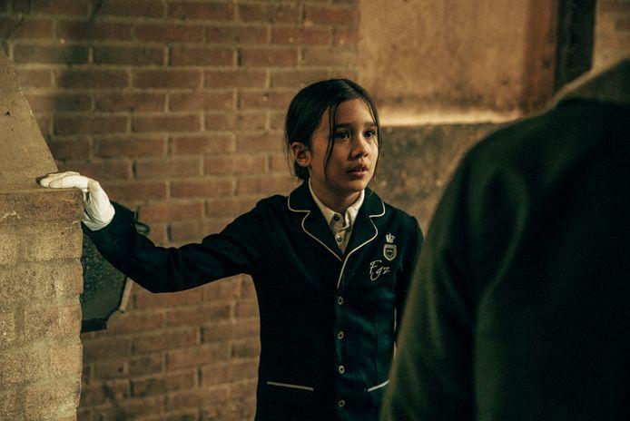Dinah Snijtsheuvel in de Nederlandse film Catacombe die vanaf 13 september in de bioscoop te zien is