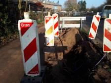 Gravers glasvezel Geffen blijven brokken maken; ondernemer dagen zonder internet en pin-betaling