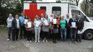 Rode Kruis reikt zestien brevetten uit