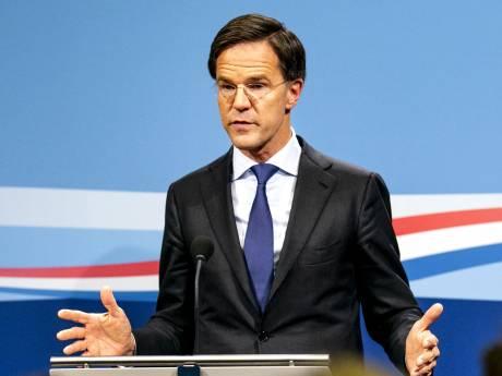Premier Mark Rutte spreekt Hoeksche Waarders toe