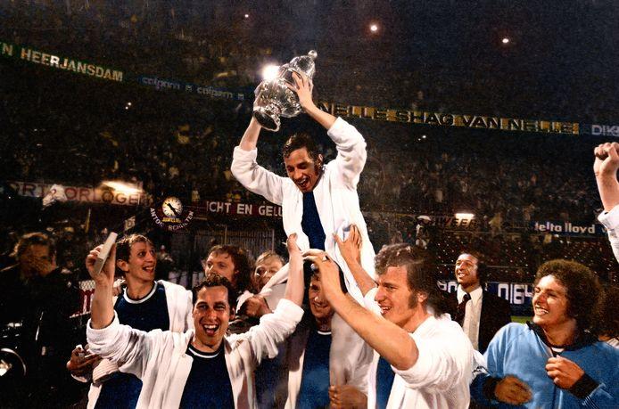 BREDA - Een historische dag voor NAC, 31 mei 1973. In De Kuip wint NAC de KNVB-Beker door in de finale NEC met 2-0 te verslaan. Als ouderen bij het project Football Memories terugblikken op dit soort momenten dan knappen ze op.