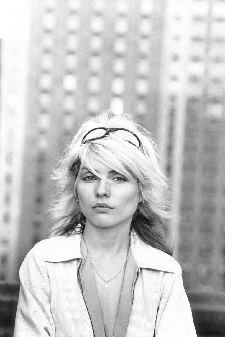 Debbie Harry, gezicht en frontvrouw van Blondie.  Beeld Getty Images