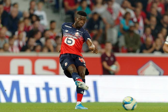 Edgar Ié speelde vorig seizoen 21 duels voor Lille OSC, dat tweede werd in de Franse competitie.