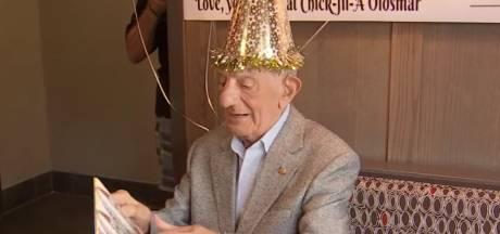 100-jarige man krijgt voor altijd gratis eten