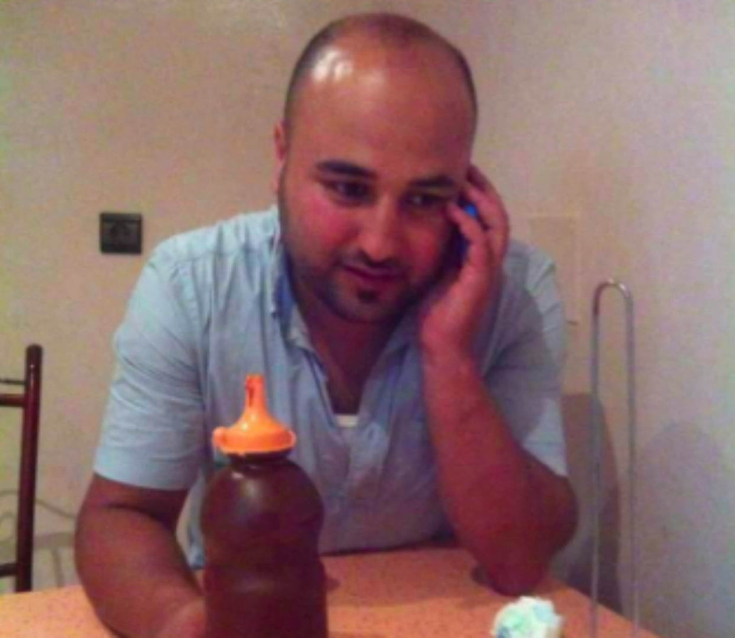 De omgekomen visverkoper Mohsin (Mouhcine) Fakri.