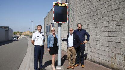 Nieuwe snelheidsborden voor gemeenten Haaltert en Denderleeuw