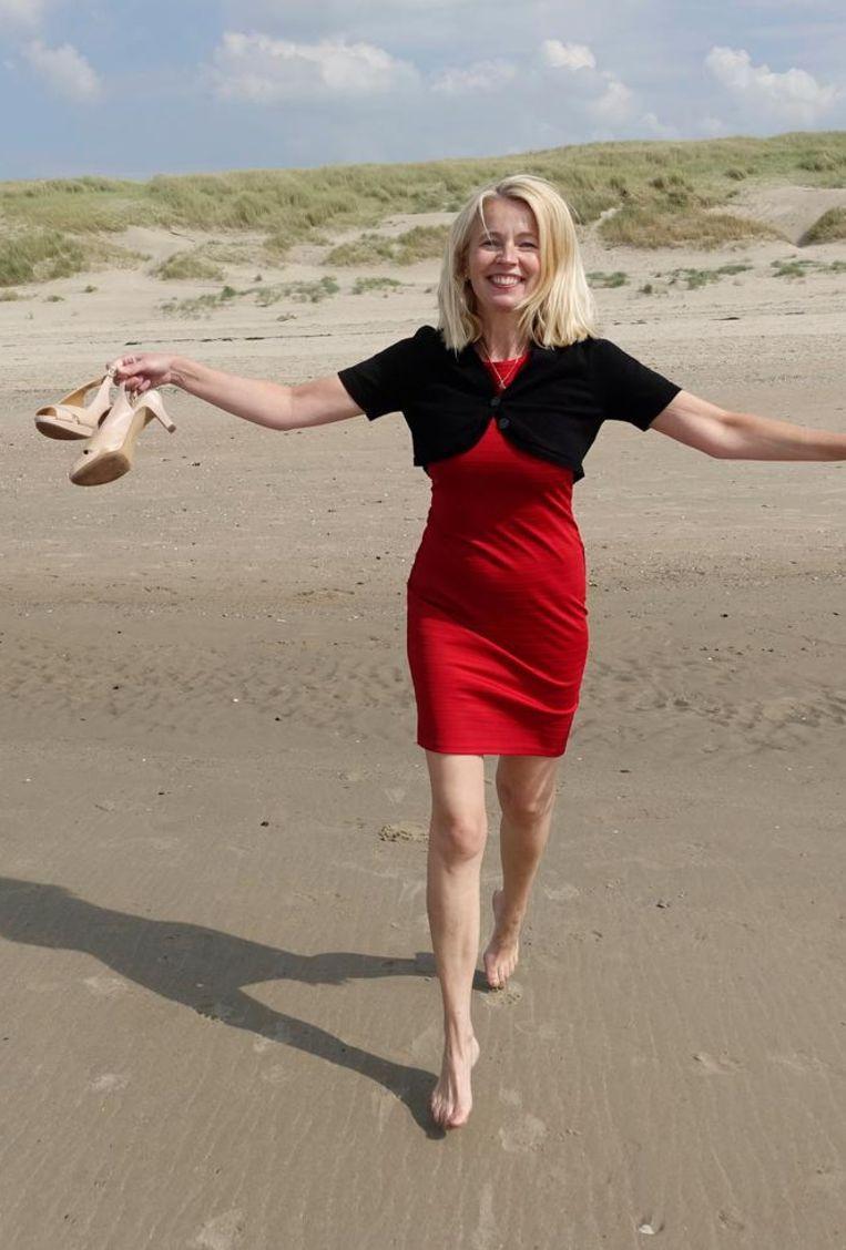 Ybeltje Berckmoes lucht na zes jaar haar hart. Dankzij haar boek weten we dat ze heel wat uurtjes op Netflix zat. Beeld HH