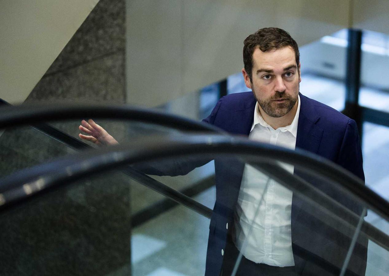 Staatssecretaris Klaas Dijkhoff van Veiligheid en Justitie
