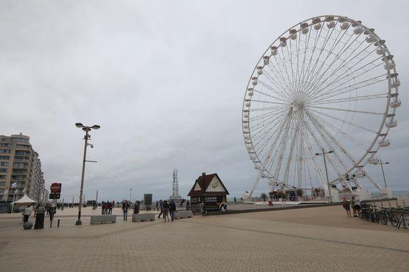 Waar afgelopen zomer een reuzenrad stond, moet de komende jaren een nieuw casino verrijzen.