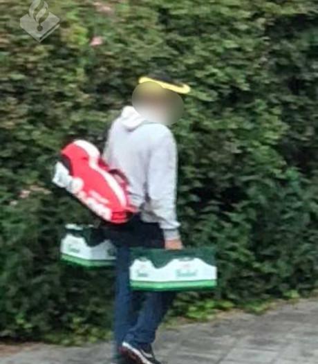 Man steelt kratten bier uit achtertuin in Helmond