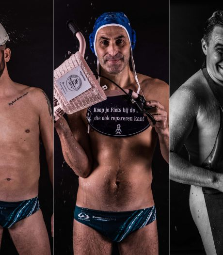 Sex sells: Utrechts waterpoloteam uit de kleren voor pikante kalender