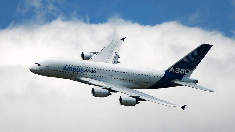 Airbus A380. Beeld epa
