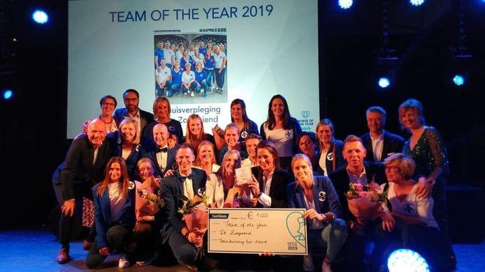 De Zorgvriend werd verkozen tot 'team of the year'.