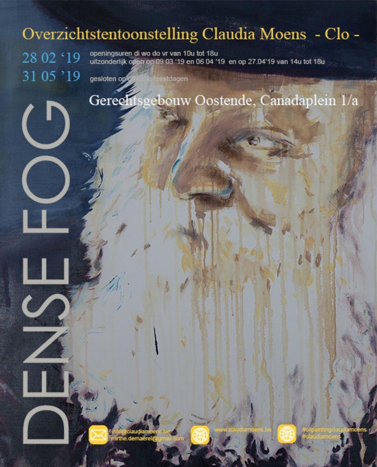 De tentoonstelling Dense Fog loopt van 28 februari tot 31 mei in het Vredegerecht in Oostende