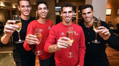 Helft medailles dankzij Borlées: EK, WK of Spelen, familie al 10 jaar garantie op succes