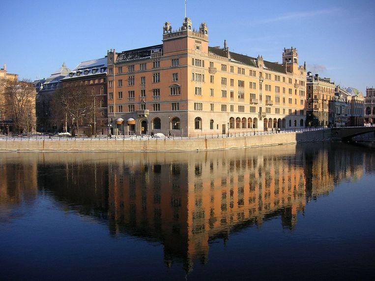 Het Rosenbad-gebouw in hoofdstad Stockholm doet eveneens dienst als regeringszetel.