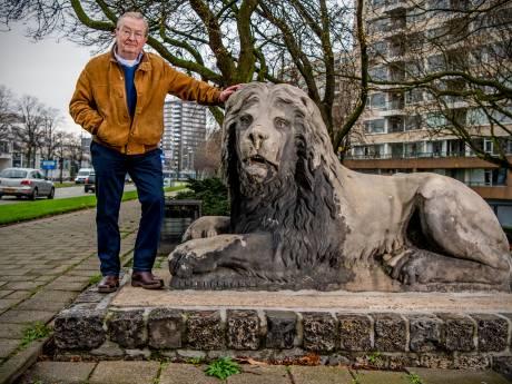 Historicus wil leeuwen terug als wachters van Hofpleinfontein: 'Zoveelste cultureel erfgoed waar niks mee gebeurt'