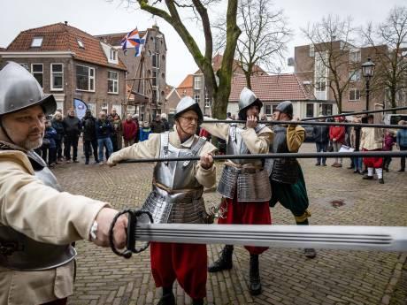 Steenwijk viert ontzet met een de oprichting van een eigen schutterij